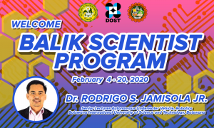 Balik Scientist Program