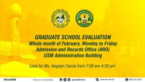 Graduate School Evaluation @ Admission and Records Office