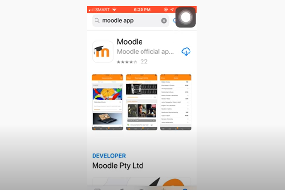 Installing Moodle App for IOS