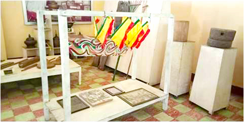Artifacts showing the dominance of Maguindanaon history of the University